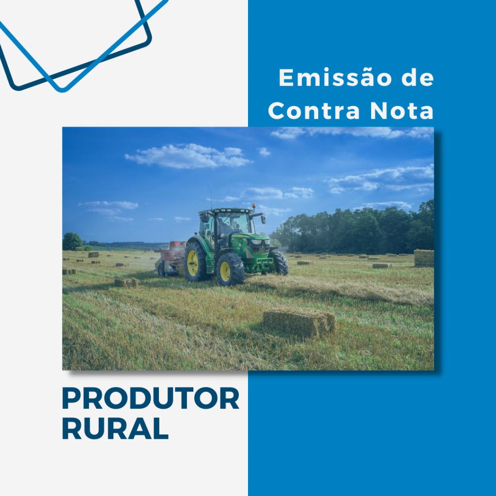 Como emitir contra nota produtor rural?